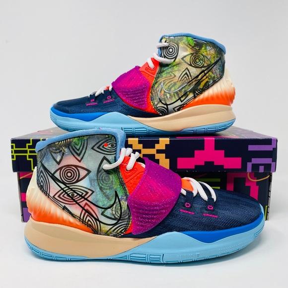 Nike Other - Nike Kids Kyrie 6 Pre Heat Heal The World